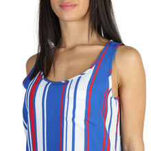 Load image into Gallery viewer, Tommy Hilfiger Tank Top Striped Sleeveless Multi-Color Logo - WW0WW19136 - Moda Designer Boutique