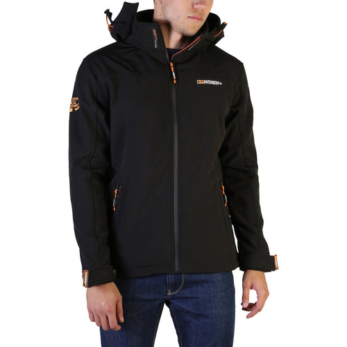 Geographical Norway Takeaway Men's Jacket Hooded Logo - Moda Designer Boutique