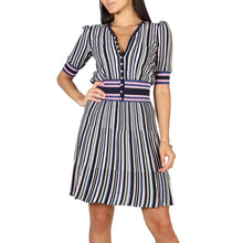 Load image into Gallery viewer, Emporio Armani Dress Striped - 3Y2A102M13Z - Moda Designer Boutique