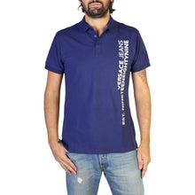 Load image into Gallery viewer, Versace Jeans Men's Polo Shirt Short Sleeve Logo Print - B3GTB7P6_36571 - Moda Designer Boutique