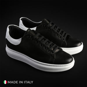 Duca di Morrone 4 PELLE Men's Sneakers Leather - Moda Designer Boutique