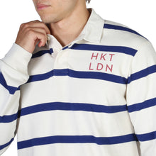 Load image into Gallery viewer, Hackett Men's Polo Shirt Slim Fit Striped Logo - HM570733 - Moda Designer Boutique