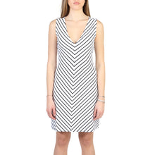 Load image into Gallery viewer, Armani Jeans Dress Sleeveless V-Neck White - 3Y5A92_5JYAZ - Moda Designer Boutique