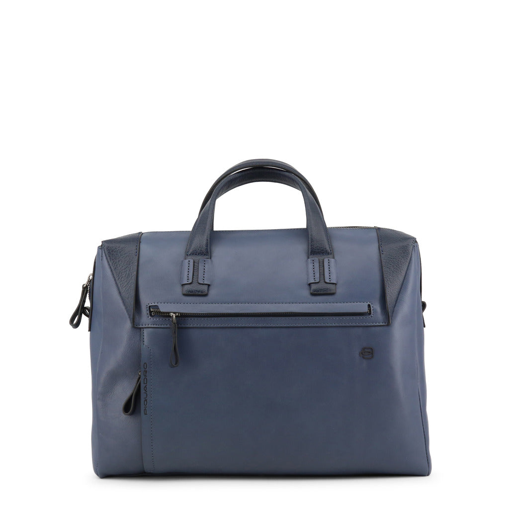 Piquadro CA4255S94 Briefcase Men's Blue - Moda Designer Boutique