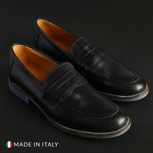Load image into Gallery viewer, SB 3012 Men's Loafers Moccasins Leather - S1_CRUST - Moda Designer Boutique