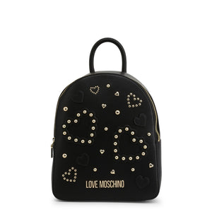 Love Moschino Women's Backpack Studded Logo - JC4036PP1ALE - Moda Designer Boutique