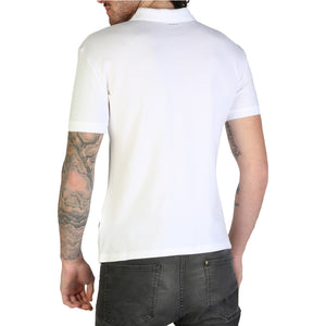 Napapijri TALY-STRETCH_N0YIJI Men's Polo Shirt Short Sleeve Slim Fit Logo - Moda Designer Boutique