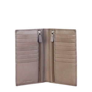 Made in Italia ANDRIA Womens Wallet Leather Taupe - Moda Designer Boutique