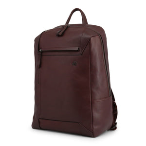 Piquadro Men's Backpack Brown - CA4260S94 - Moda Designer Boutique