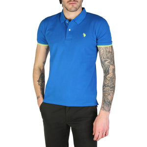 U.S. Polo Assn. 52432_41029 Men's Polo Shirt Regular Fit Short Sleeve Logo - Moda Designer Boutique