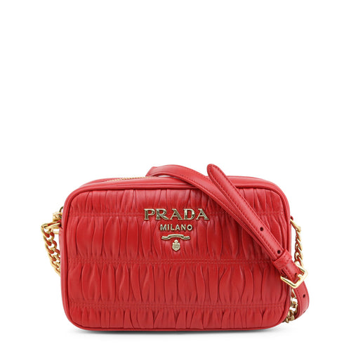 Prada Fuoco Crossbody Bag Leather Logo - 1BH112_GAUFRE