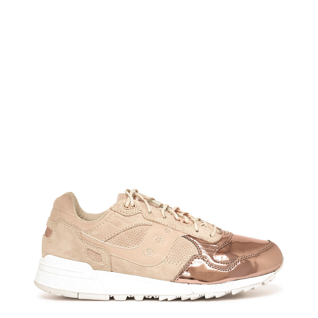 Saucony Shadow S702921 Sneakers Tan Rosegold - Moda Designer Boutique