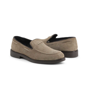 Off-box Men's Loafers Moccasins Suede - 1380_CAMOSCIO - Moda Designer Boutique