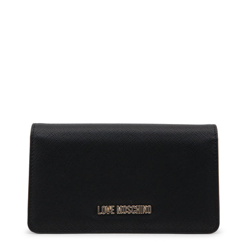 Love Moschino Wallet Womens Logo Snap Closure - JC5553PP16LQ - Moda Designer Boutique