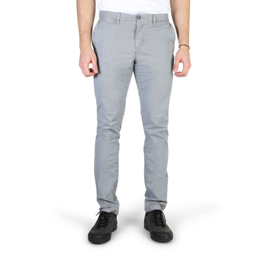 Tommy Hilfiger Men's Trousers Pants Gray Logo - MW0MW02349 - Moda Designer Boutique