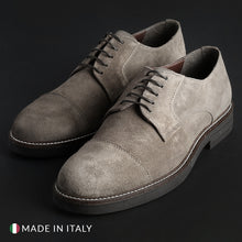 Load image into Gallery viewer, Madrid Men's Lace Up Shoes Suede - 605_CAMOSCIO - Moda Designer Boutique