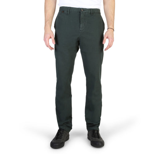 Tommy Hilfiger Men's Trousers Pants Green Logo - MW0MW02352 - Moda Designer Boutique