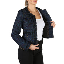 Load image into Gallery viewer, Guess W83L35 Womens Blazer Jacket Blue - Moda Designer Boutique