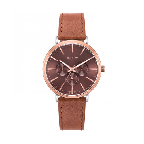 Gant KELOWNA Men's Watch Stainless Steel Leather Strap - GTAD05600399I - Moda Designer Boutique