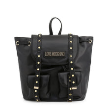 Load image into Gallery viewer, Love Moschino Women's Backpack Studded Black - JC4078PP1ALL - Moda Designer Boutique