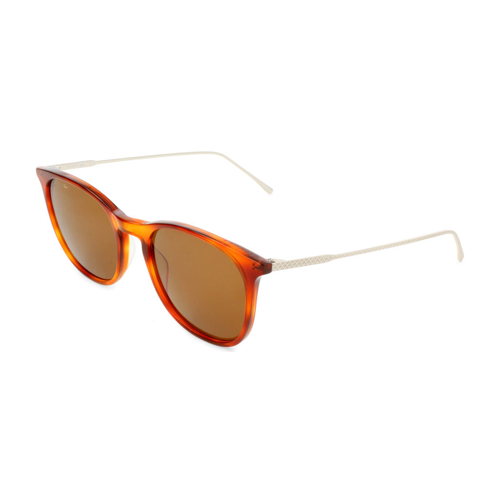 Lacoste L879SPC Unisex Sunglasses Brown - Moda Designer Boutique
