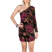 Load image into Gallery viewer, Guess Dress Velvet Inserts Multi-Color - W84K2D_WBRS0 - Moda Designer Boutique