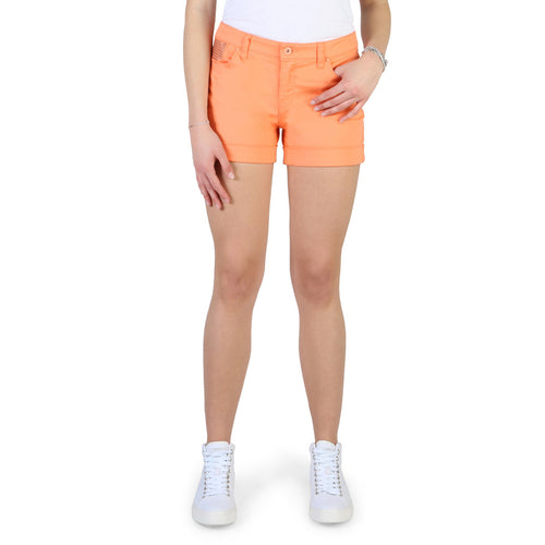 Armani Jeans Women's Shorts Orange - C5J09_QR - Moda Designer Boutique