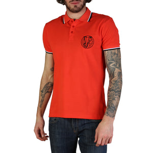 Versace Jeans Men's Polo Shirt Short Sleeves Logo - B3GTB7P0_36571 - Moda Designer Boutique