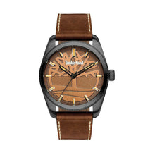 Load image into Gallery viewer, Timberland NEWBURGH Men's Watch Stainless Steel Leather Strap - 15577JSU - Moda Designer Boutique
