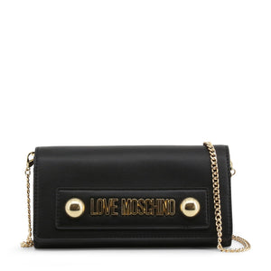 Love Moschino Clutch Bag Chain Strap Logo - JC5636PP08KD - Moda Designer Boutique