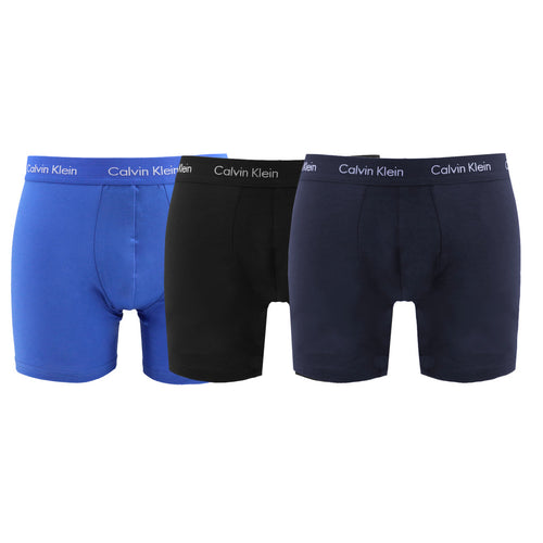 Calvin Klein Men's Boxer Shorts Tri-Pack - NB177OA - Moda Designer Boutique