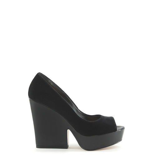 Made in Italia LICIA Pumps & Heels Open Toe Velvet - Moda Designer Boutique