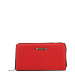 Love Moschino Wallet Womens Logo Zip Around - JC5552PP16LQ - Moda Designer Boutique