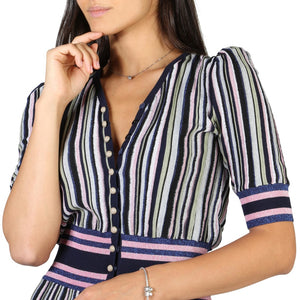 Emporio Armani Dress Striped - 3Y2A102M13Z - Moda Designer Boutique