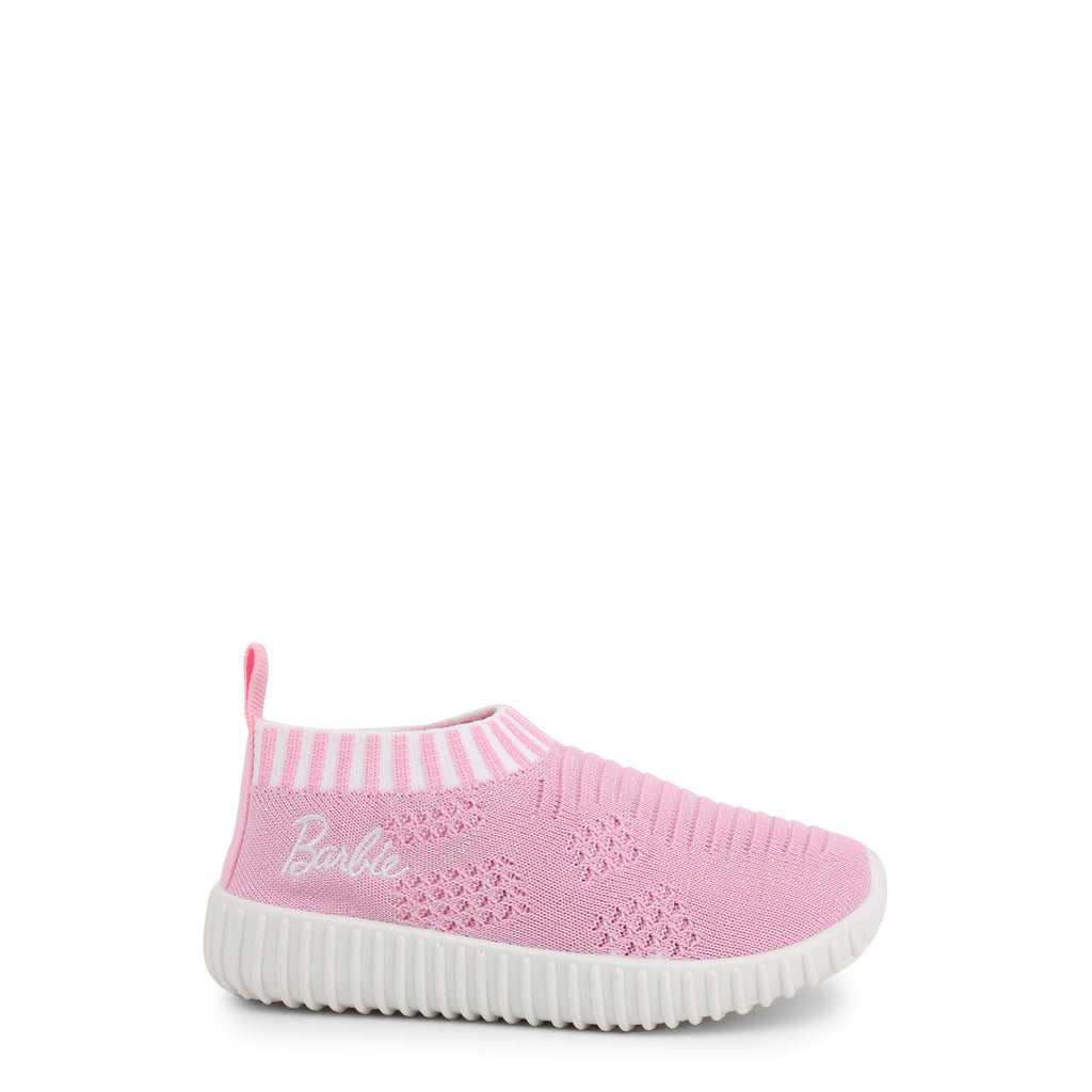 Barbie Kids Sneakers Slip-On Fabric - BA824 - Moda Designer Boutique