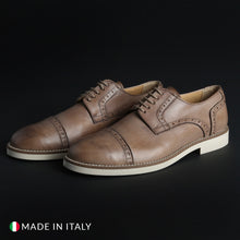 Load image into Gallery viewer, Madrid Men's Lace Up Shoes Leather - 607_PELLE - Moda Designer Boutique