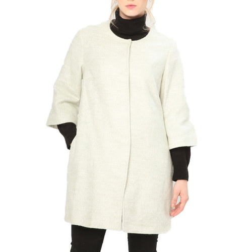 Fontana 2.0 S11065E KABAN Coat Single-Breasted - Moda Designer Boutique
