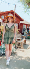 Load image into Gallery viewer, Flowy mini summer dress