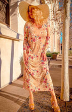 Load image into Gallery viewer, floral print lose fit Maxi Dress