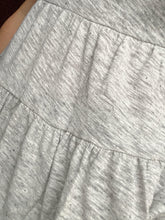 Load image into Gallery viewer, Tiered knit top grey - THE SUNDAY DRESS