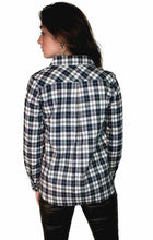 Load image into Gallery viewer, Plaid Long Sleeve Button Down Shirt - THE SUNDAY DRESS