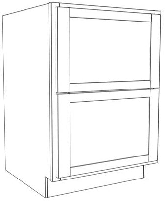 Double Drawer Base Chamfer
