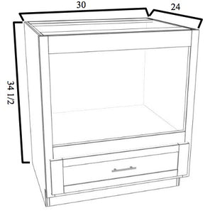 Base Microwave w/ Trim