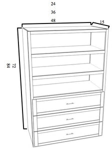 Closet Storage w/ Shelves
