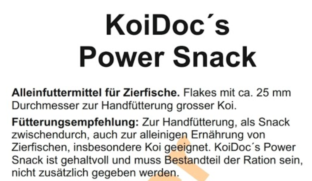 Koidocs Power-Snack