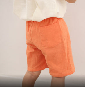 Linen Shorts for Kids(clearance)
