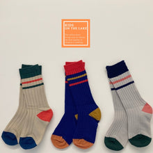 Load image into Gallery viewer, Striped Color Socks (3 Pack)
