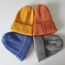 Load image into Gallery viewer, Sweater-Knit Beanie for kids