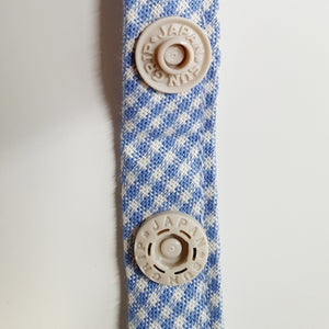 face mask straps with buttons