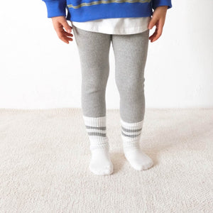 Plain Ribbed Leggings (3 colors)
